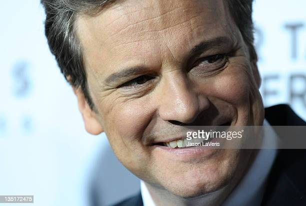 Actor Colin Firth attends the premiere of Tinker Tailor Soldier Spy at ArcLight Cinemas Cinerama Dome on December 6 2011 in Hollywood California