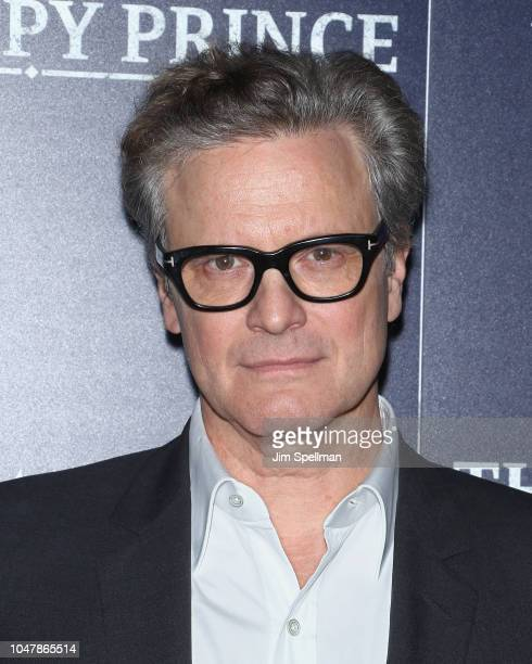 Actor Colin Firth attends the special screening of Sony Pictures Classics' The Happy Prince hosted by The Cinema Society and Brooks Brothers at iPic...