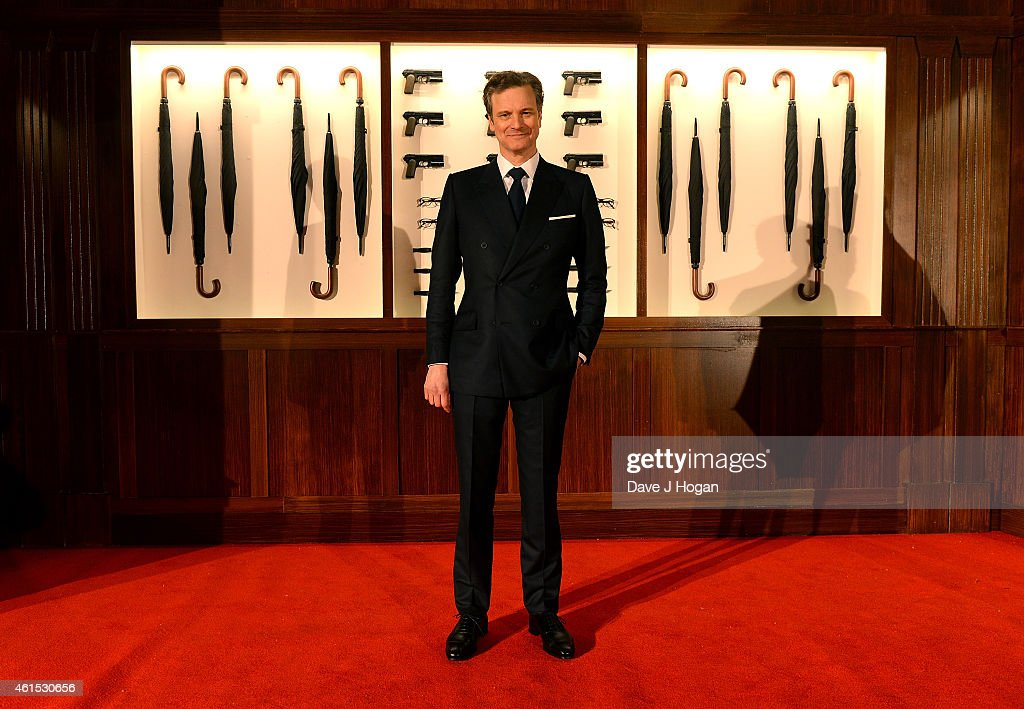 Actor Colin Firth attends the World Premiere of 'Kingsman: The Secret Service' at the Odeon Leicester Square on January 14, 2015 in London, England.