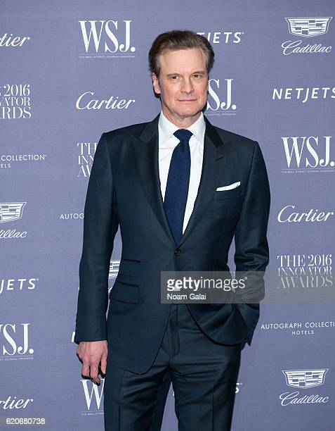 Actor Colin Firth attends the WSJ Magazine Innovator Awards at Museum of Modern Art on November 2 2016 in New York City