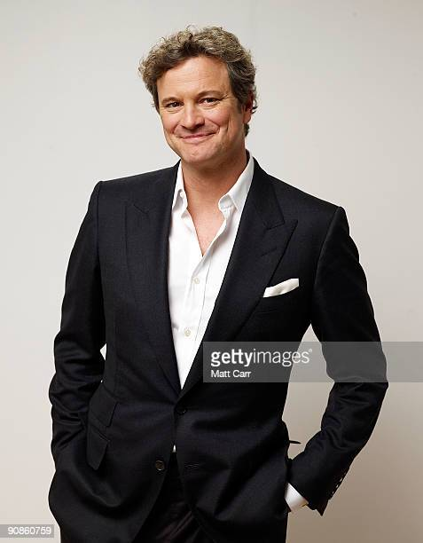 Actor Colin Firth from the film 'A Single Man' poses for a portrait during the 2009 Toronto International Film Festival at The Sutton Place Hotel on...