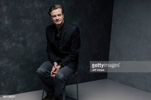Actor Colin Firth is photographed at the Toronto Film Festival on September 7 2013 in Toronto Ontario