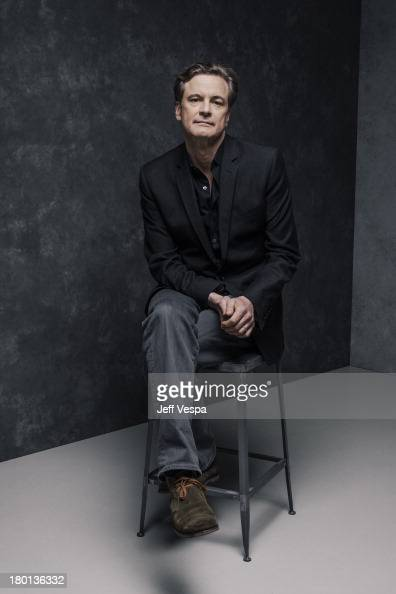 Actor Colin Firth is photographed at the Toronto Film ...