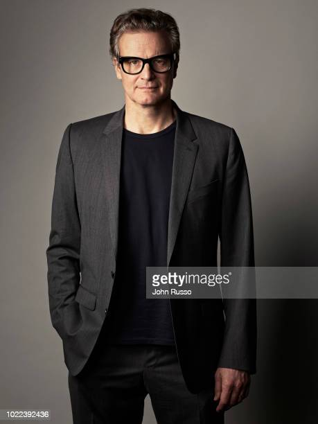 Actor Colin Firth is photographed for 20th Century Fox on July 19, 2017 in San Diego, California.