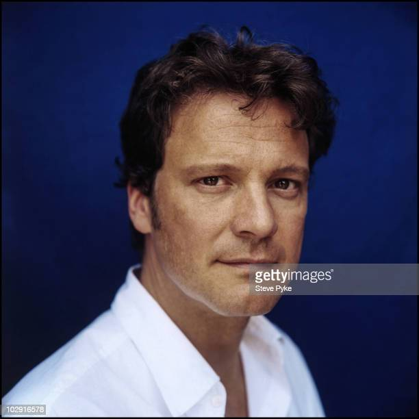 Actor Colin Firth poses for a portrait shoot in London UK