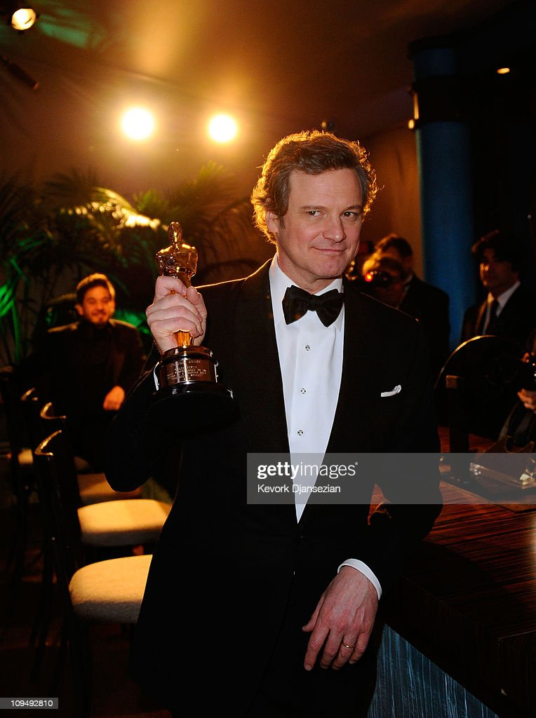 Actor Colin Firth, winner of the award for Best Actor in a Leading Role for 'The King's Speech', attends the Governors Ball on February 27, 2011 in Hollywood, California.