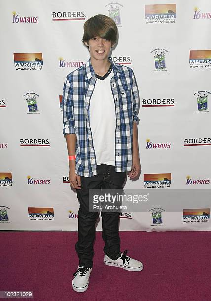 Actor Colin Ford arrives at the '16 Wishes' Premiere at The Harmony Gold Theatre on June 22 2010 in Los Angeles California