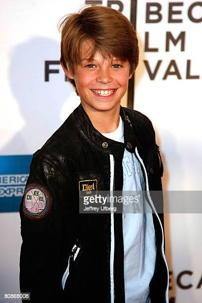 Actor Colin Ford arrives for the screening of Lake City at the 7th Annual Tribeca Film Festival on April 25 2008 in New York City New York