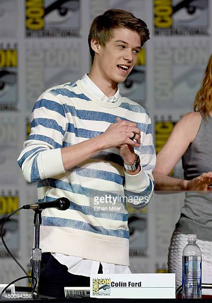 Actor Colin Ford attends CBS TV Studios' panel for 'Under the Dome' during ComicCon International 2015 at the San Diego Convention Center on July 9...
