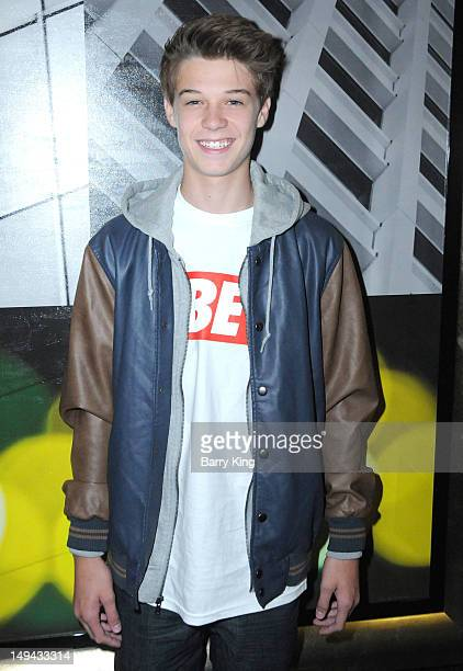 Actor Colin Ford attends Sterling Beaumon's Summer Bash on July 27 2012 in Hollywood California