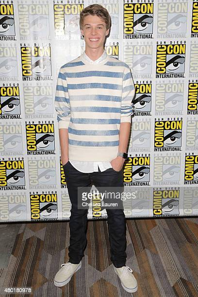 Actor Colin Ford attends the CBS Television Studios press room during ComicCon International on July 9 2015 in San Diego California