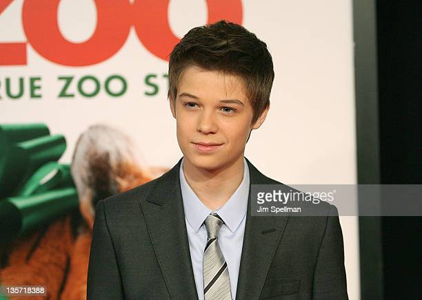 Actor Colin Ford attends the We Bought a Zoo premiere at Ziegfeld Theater on December 12 2011 in New York City