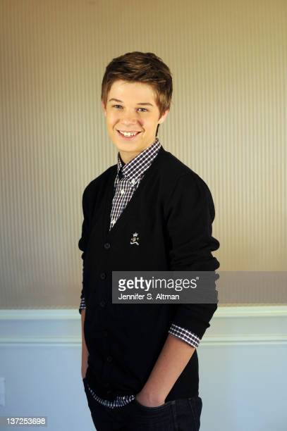 Actor Colin Ford is photographed for Los Angeles Times on December 9 2011 in New York City