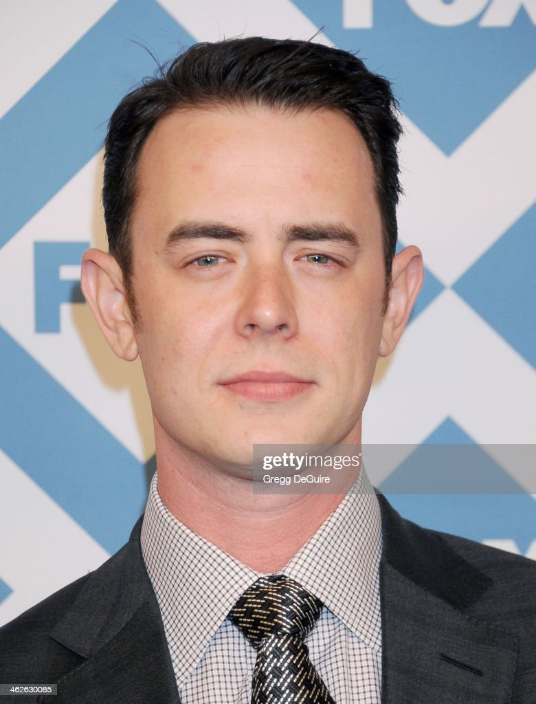 Actor Colin Hanks arrives at the 2014 TCA winter press tour FOX all-star party at The Langham Huntington Hotel and Spa on January 13, 2014 in Pasadena, California.