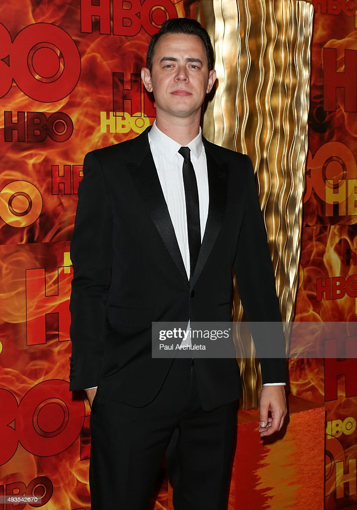 Actor Colin Hanks attends HBO's Official 2015 Emmy After Party at The Plaza at the Pacific Design Center on September 20, 2015 in Los Angeles, California.