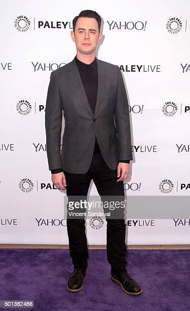 """Actor Colin Hanks attends PaleyLive LA: An Evening With """"Life In Pieces"""" at The Paley Center for Media on December 14, 2015 in Beverly Hills,..."""