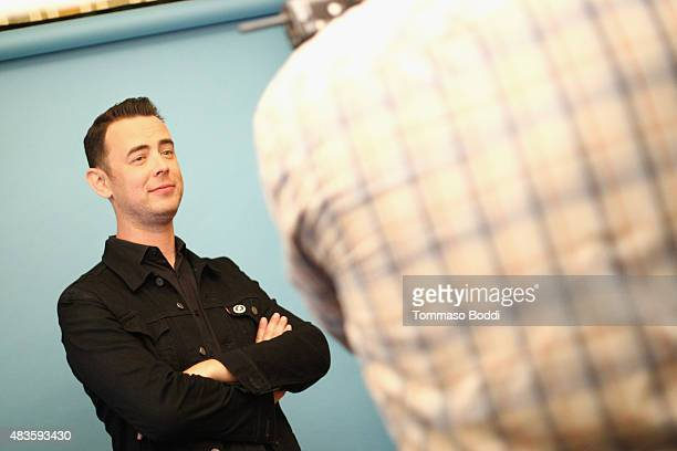 Actor Colin Hanks of CBS's 'Life in Pieces' attends Behind The Scenes Of The Getty Images Portrait Studio Powered By Samsung Galaxy At 2015 Summer...