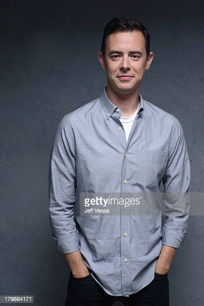 Actor Colin Hanks of 'Parkland' poses at the Guess Portrait Studio during 2013 Toronto International Film Festival on September 6 2013 in Toronto...