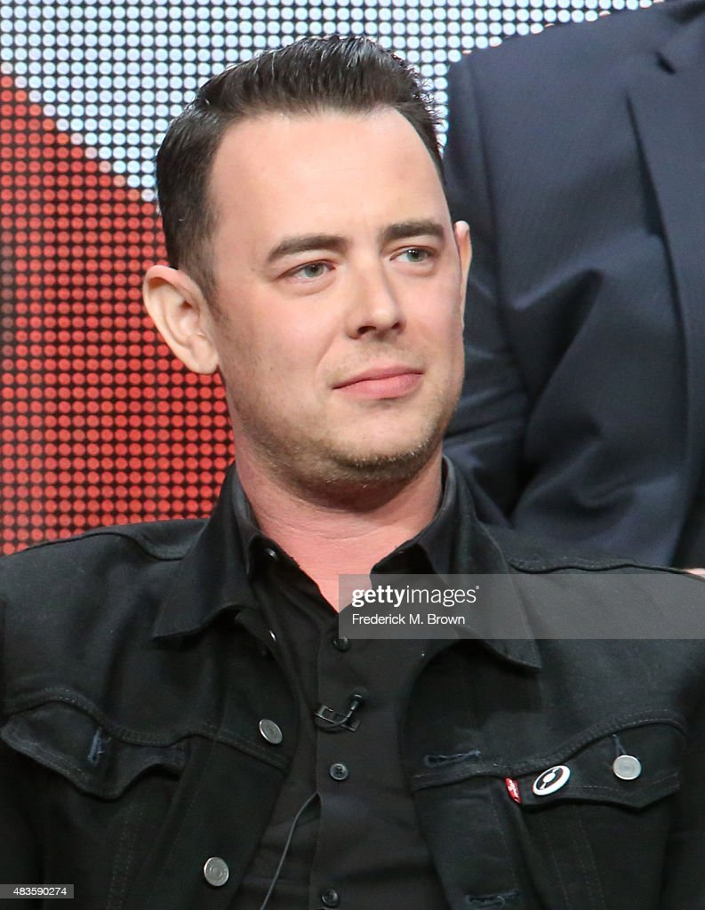 Actor Colin Hanks speaks onstage during the 'Code Black' panel discussion at the CBS portion of the 2015 Summer TCA Tour at The Beverly Hilton Hotel on August 10, 2015 in Beverly Hills, California.