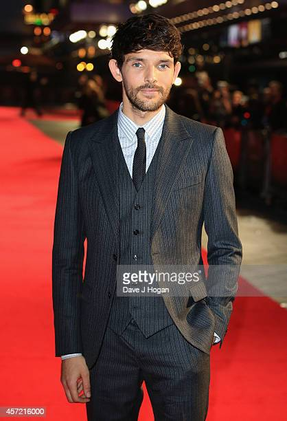 Actor Colin Morgan attends the VIP arrivals of the World Premiere Centrepiece Gala supported by the Mayor of London for 'Testament Of Youth' during...