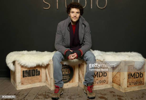 Actor Colin Morgan of 'The Happy Prince' attends The IMDb Studio and The IMDb Show on Location at The Sundance Film Festival on January 21 2018 in...