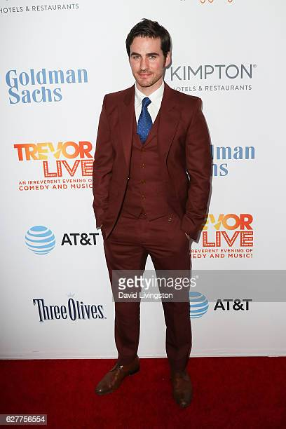 Actor Colin O'Donoghue arrives at the TrevorLIVE Los Angeles 2016 Fundraiser at The Beverly Hilton Hotel on December 4 2016 in Beverly Hills...