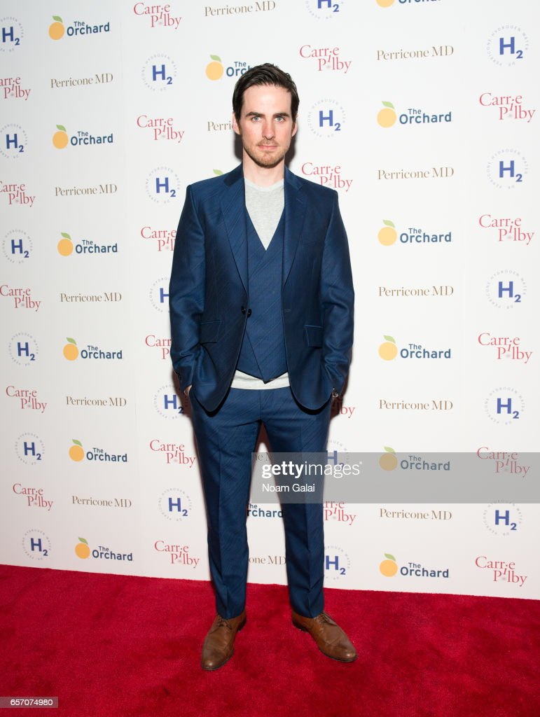 Actor Colin O'Donoghue attends the 'Carrie Pilby' New York screening at Landmark Sunshine Cinema on March 23, 2017 in New York City.