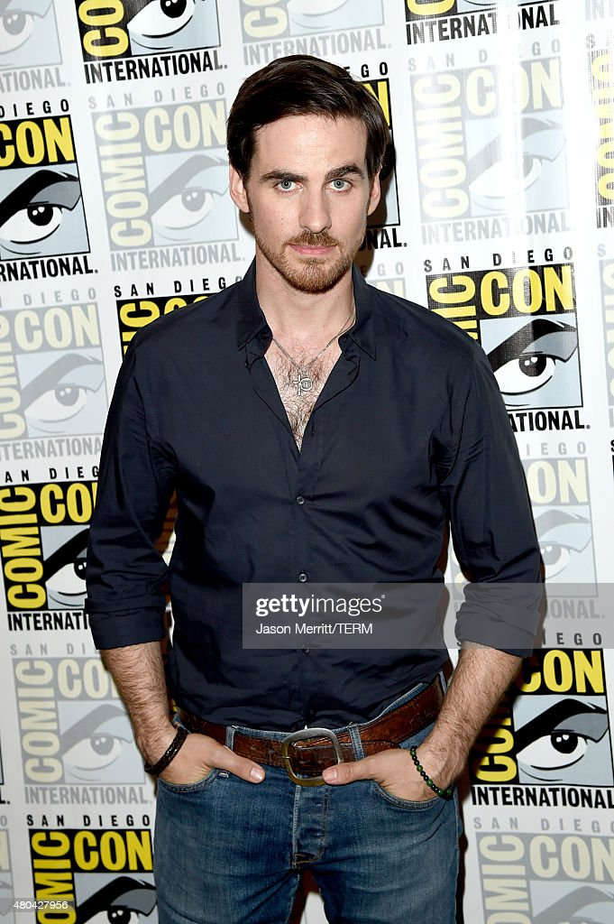 Actor Colin O'Donoghue attends the 'Once Upon A Time' press room during Comic-Con International 2015 at the Hilton Bayfront on July 11, 2015 in San Diego, California.