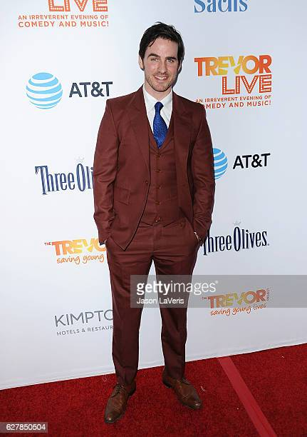Actor Colin O'Donoghue attends the TrevorLIVE Los Angeles 2016 fundraiser at The Beverly Hilton Hotel on December 4 2016 in Beverly Hills California