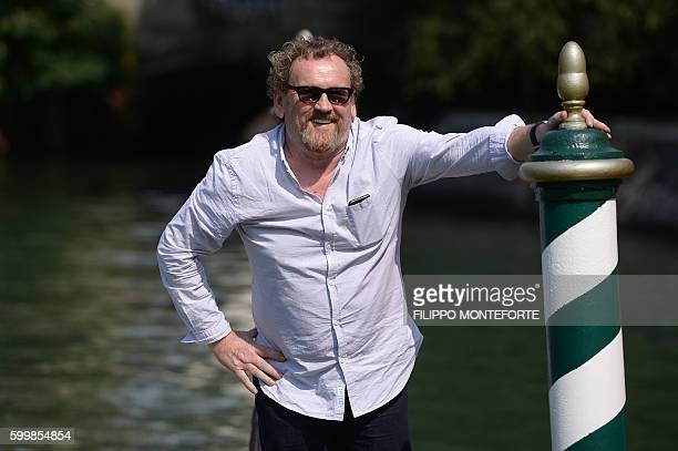 Actor Colm Meaney arrives at the Hotel Excelsior during the 73rd Venice Film Festival on September 7, 2016 at Venice Lido. / AFP / FILIPPO MONTEFORTE