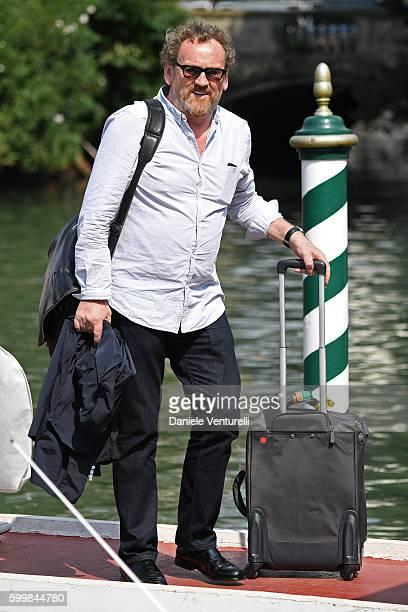 Actor Colm Meaney arrives at the Lido during the 73rd Venice Film Festival on September 7 2016 in Venice Italy