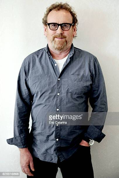 Actor Colm Meaney is photographed for Self Assignment on September 8 2015 in Paris France
