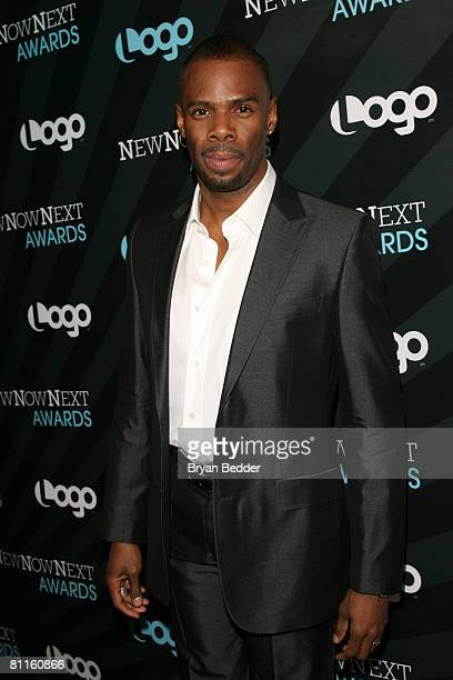 Actor Colman Domingo arrives at the 2008 NewNowNext Awards at the MTV studios on May 19 2008 in New York City