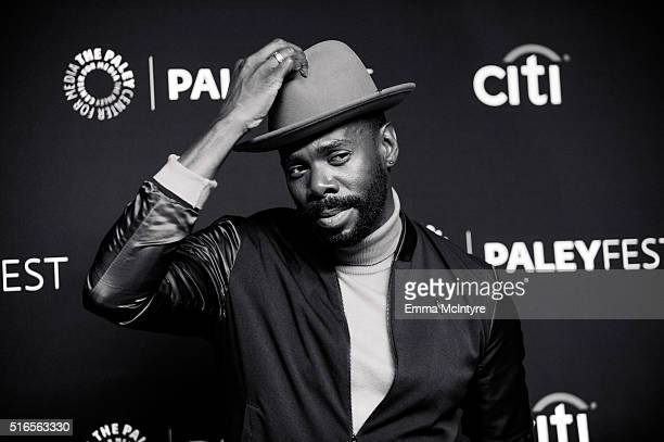 Actor Colman Domingo arrives at The Paley Center For Media's 33rd Annual PaleyFest Los Angeles presentation of 'Fear The Walking Dead' at Dolby...