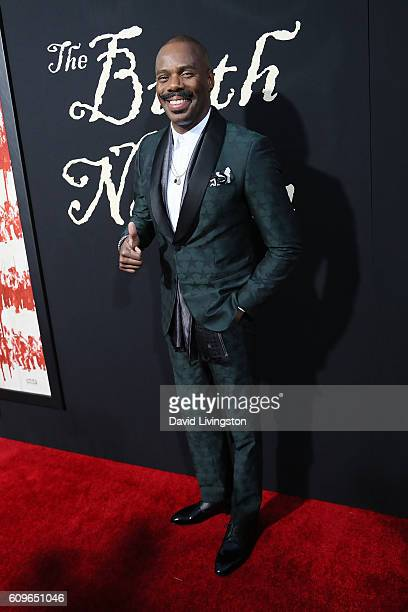 Actor Colman Domingo arrives at the Premiere of Fox Searchlight Pictures' The Birth Of A Nation at the ArcLight Cinemas Cinerama Dome on September 21...