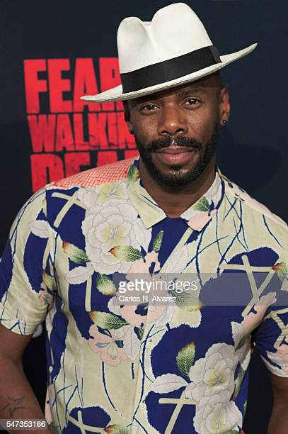 Actor Colman Domingo attends Fear the Walking Dead photocall at FNAC Callao on July 14 2016 in Madrid Spain