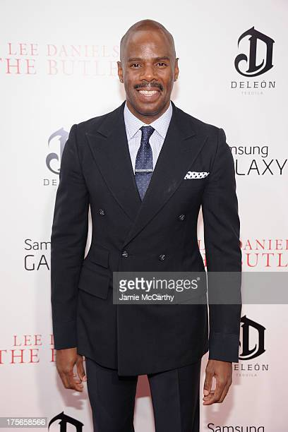 Actor Colman Domingo attends Lee Daniels' The Butler New York Premiere at Ziegfeld Theater on August 5 2013 in New York City