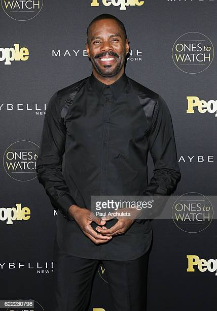 Actor Colman Domingo attends People's Ones To Watch at EP LP on October 13 2016 in West Hollywood California