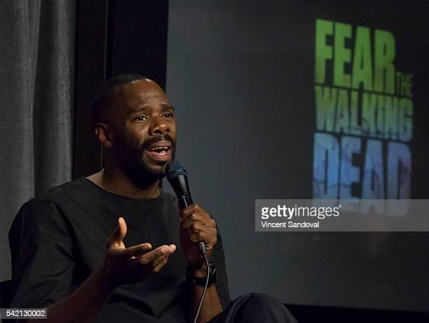 Actor Colman Domingo attends SAGAFTRA Foundation Conversations for Fear The Walking Dead at SAGAFTRA Foundation on June 21 2016 in Los Angeles...