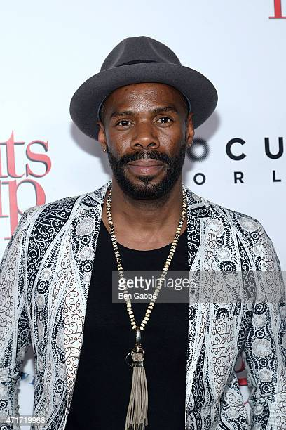 Actor Colman Domingo attends the 5 Flights Up New York premiere at BAM Rose Cinemas on April 30 2015 in New York City