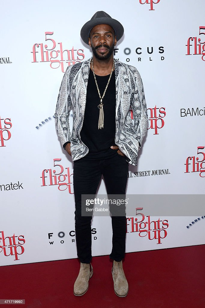 Actor Colman Domingo attends the '5 Flights Up' New York premiere at BAM Rose Cinemas on April 30, 2015 in New York City.