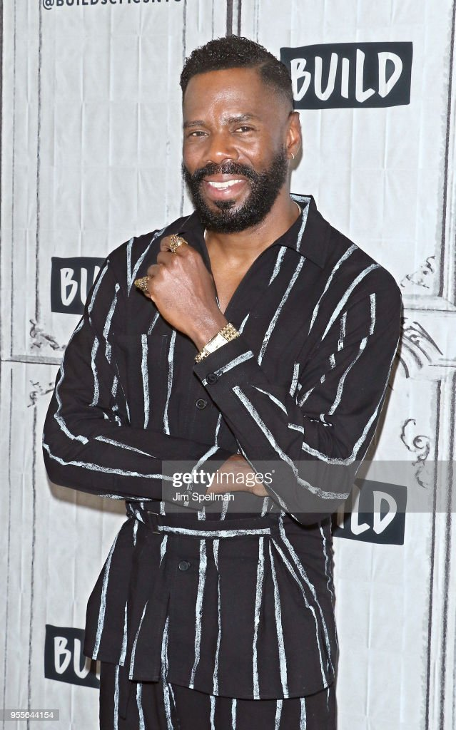 Actor Colman Domingo attends the Build Series to discuss 'Fear the Walking Dead' and 'Summer: The Donna Summer Musical' at Build Studio on May 7, 2018 in New York City.