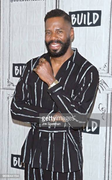 Actor Colman Domingo attends the Build Series to discuss 'Fear the Walking Dead' and 'Summer The Donna Summer Musical' at Build Studio on May 7 2018...