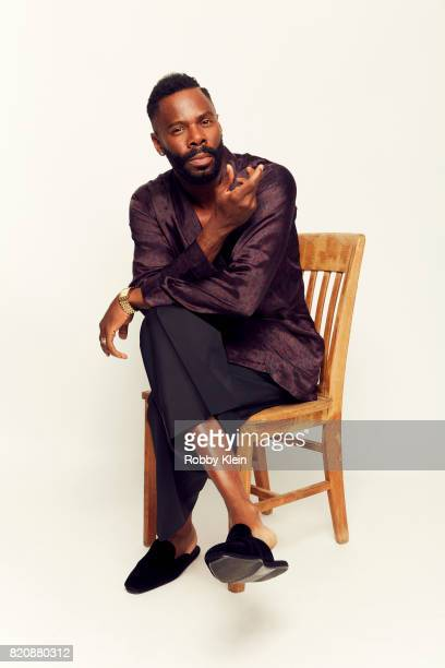 Actor Colman Domingo from AMC's Fear of the Walking Dead poses for a portrait during ComicCon 2017 at Hard Rock Hotel San Diego on July 20 2017 in...