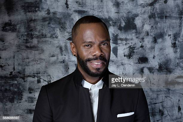 Actor Colman Domingo of 'Fear the Walking Dead' is photographed for Los Angeles Times at San Diego Comic Con on July 22 2016 in San Diego California