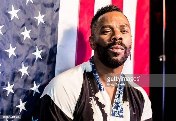 Actor Colman Domino attends the Premiere Of Neon and Refinery29's Assassination Nation After Party at The Avenue on September 12 2018 in Hollywood...
