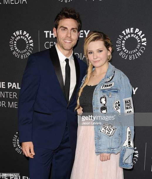 Actor Colt Prattes and actress Abigail Breslin attend the 'Dirty Dancing The New ABC Musical Event' premiere screening and conversation at The Paley...