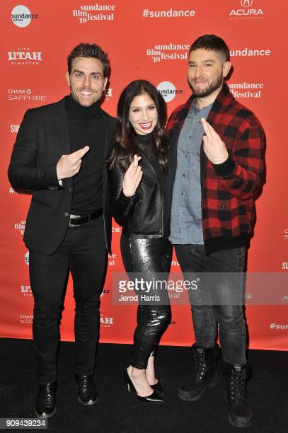 Actor Colt Prattes and creators/writers/actors Shoshannah Stern and Josh Feldman attend the Indie Episodic Program 2 during the 2018 Sundance Film...