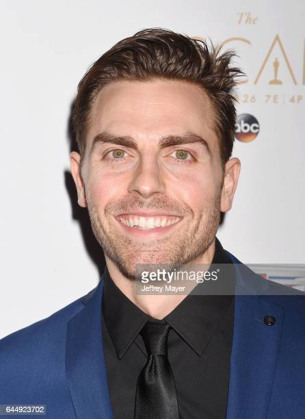 Actor Colt Prattes attends Cadillac's 89th annual Academy Awards celebration at Chateau Marmont on February 23 2017 in Los Angeles California