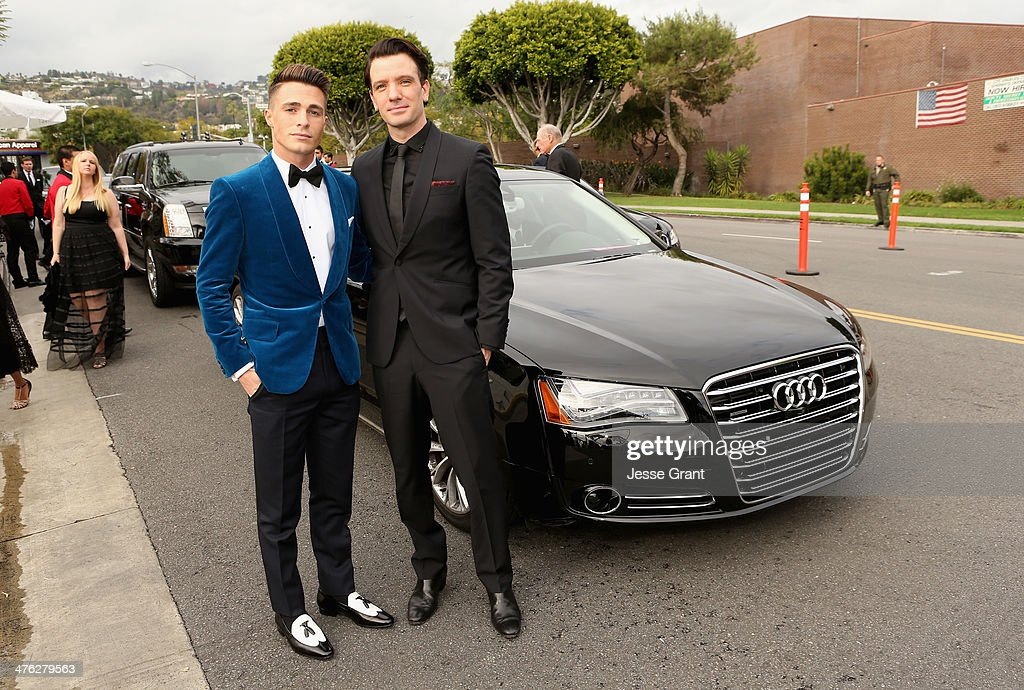 Audi Arrivals At 22nd Annual Elton John AIDS Foundation Academy Awards Viewing Party : News Photo